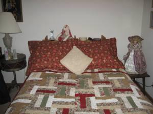 Pillow Shams in situ