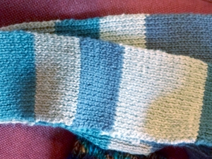 Scarf done